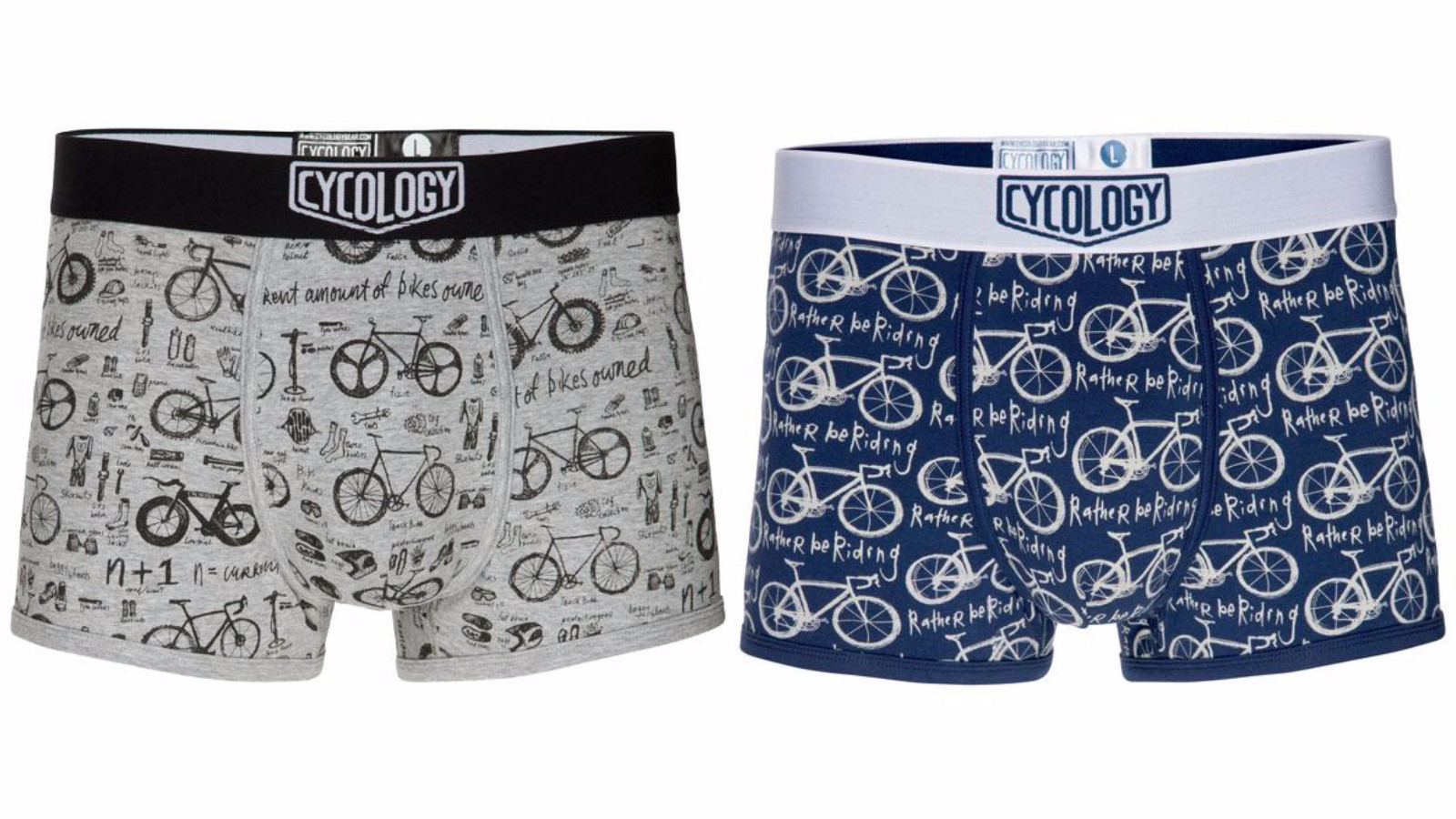 Everyone needs underwear, so it might as well be cycling-themed