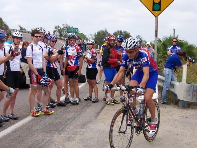 Jonathan Boyer racing RAAM in 2006.