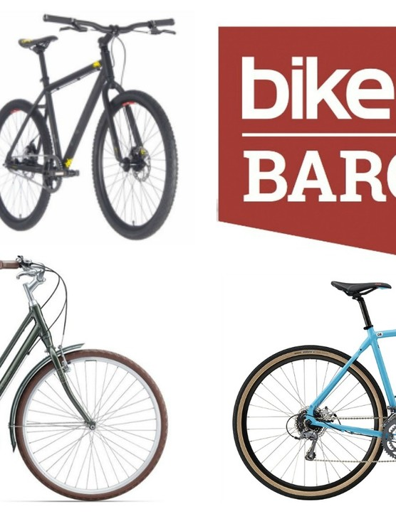 We've rounded up four discounted hybrid and town bikes, ideal for the beginner cyclist