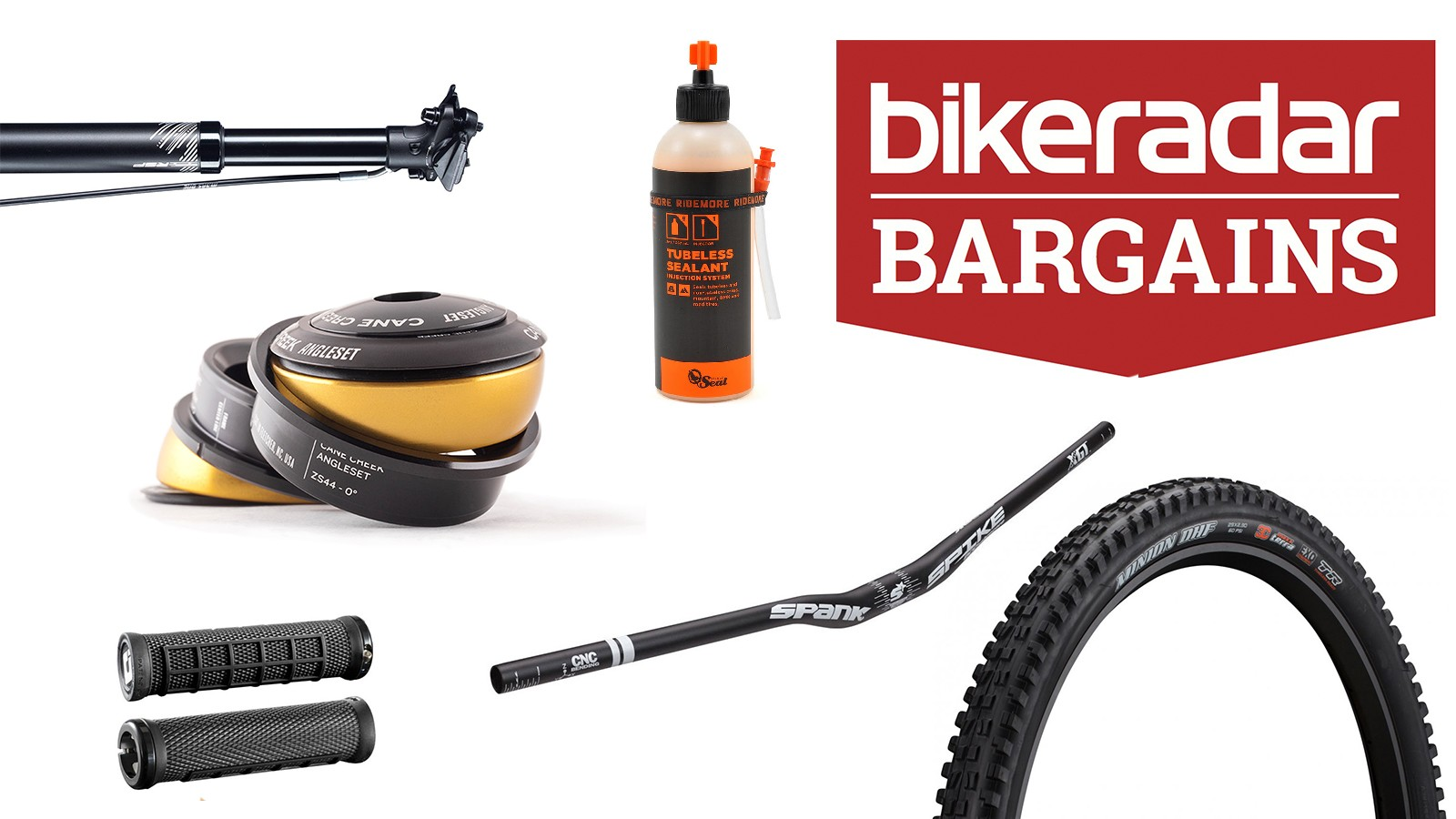 Pick up a bargain and upgrade your mountain bike