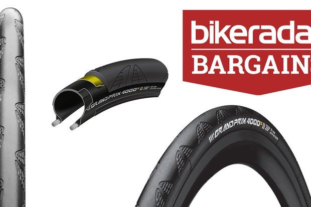 This week we've got deals on the Continental GP4000S II tyre