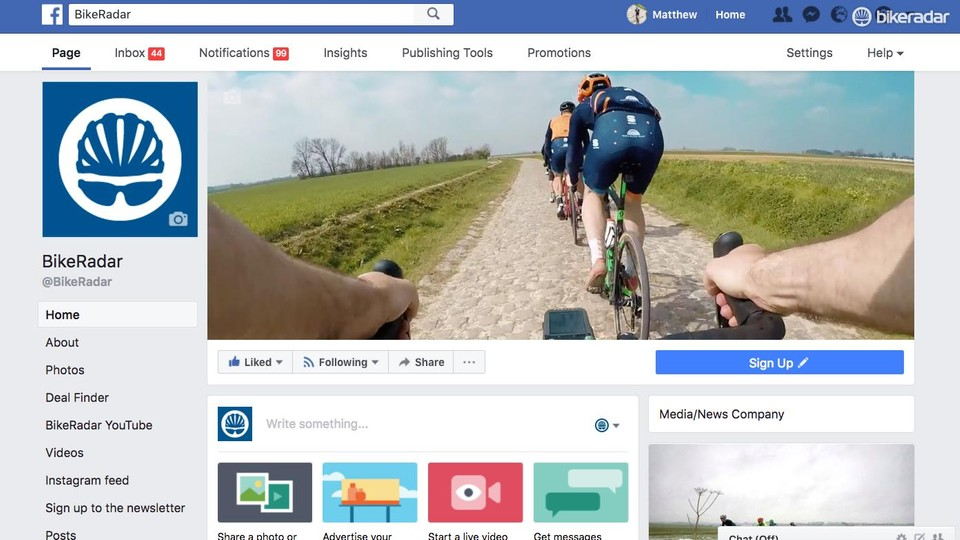Customise your Facebook news feed to get more BikeRadar - BikeRadar