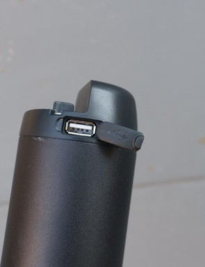 The battery can also be used to charge USB devices