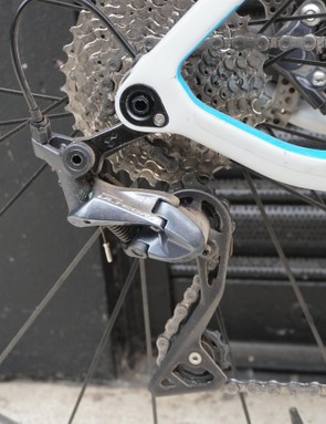 An 11-32t cassette provides plenty of gears for spinning up the steepest of climbs