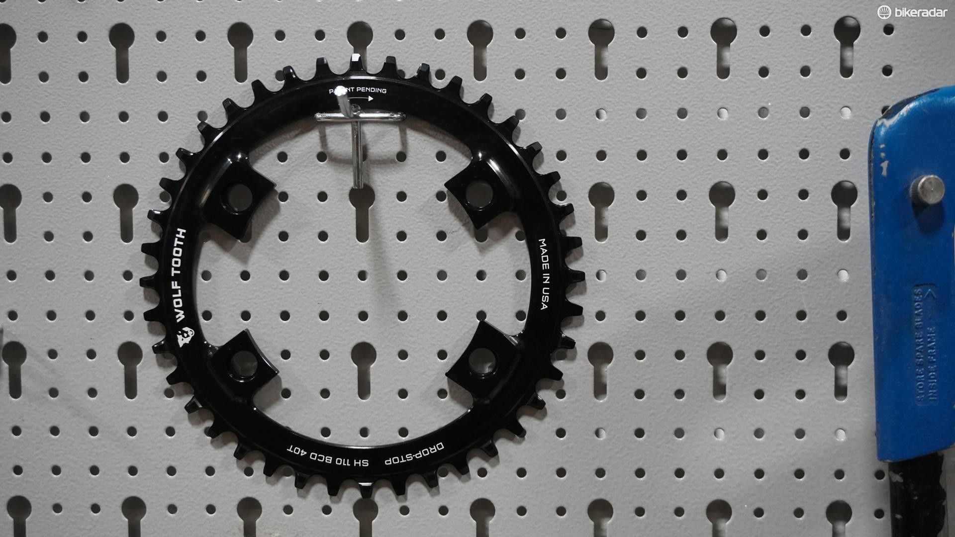 Got a 110 BCD crankset? This is the chainring for you