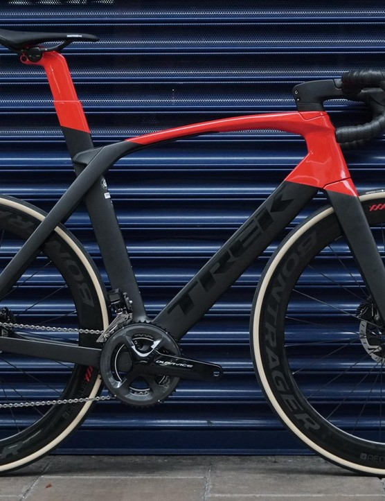 The Madone is famed for thinking past the punishingly stiff aero bikes of the past