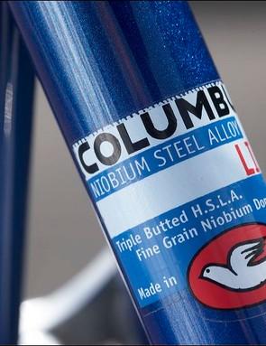 Niobium steel, as identified by Columbus' decal