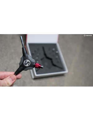 The Ypsilon Travel Kit is a handy, portable and customisable take on the Y-wrench