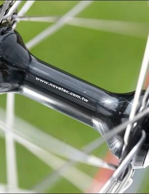 Novatech hubs anchor the Harry Rowland wheels