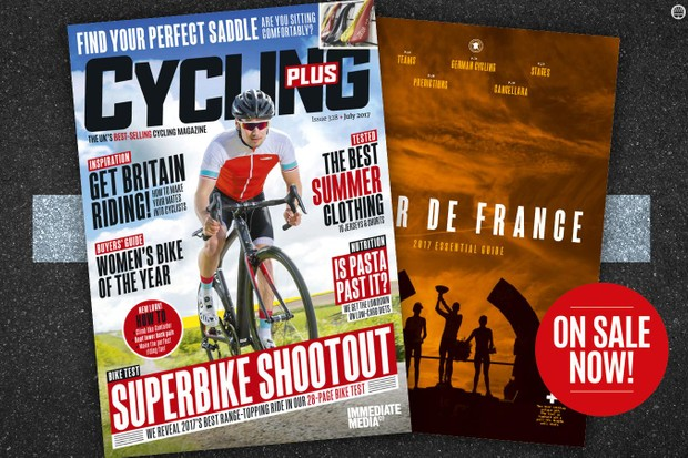 The countdown to the Tour de France begins with our new issue
