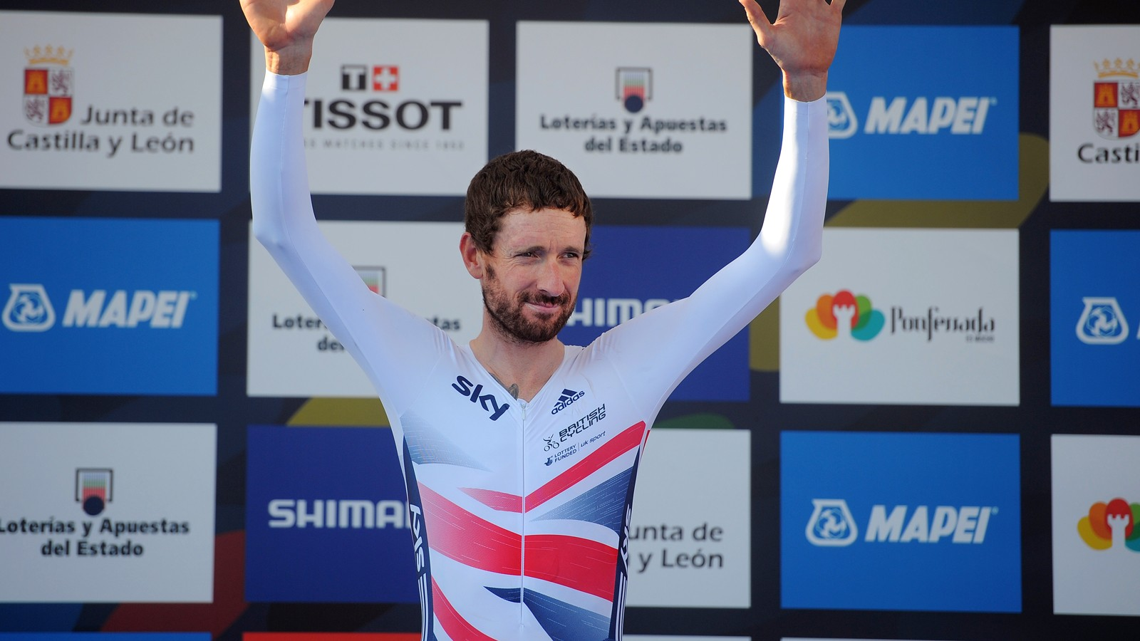 Hands up who's lean? Yes, we know you are, Sir Bradley
