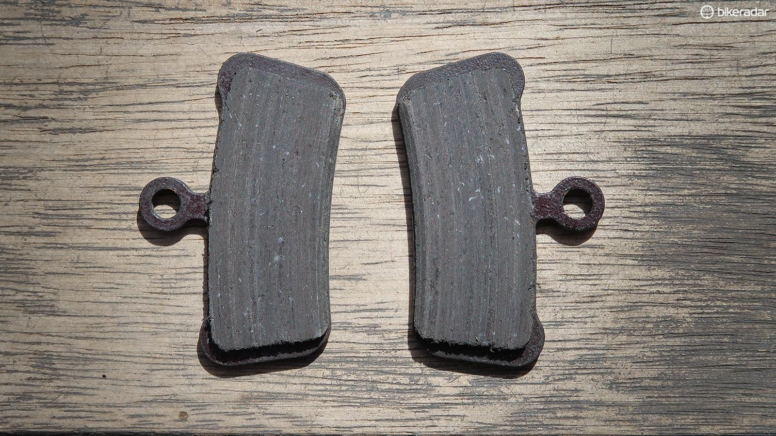 The start of the season is a good time to check your brake pads. If there is less than 1.5mm of material remaining, it's time for a new pair