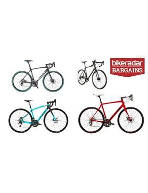 Bargain disc brake road bikes