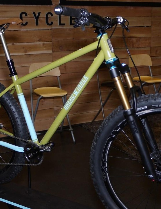 Breadwinner's new Goodwater is based on the brand's Bad Otis but with geometry and clearance for 27.5 x 3.0