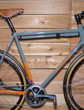 Breadwinner's fendered disc brake B Road bike features dynamo lighting and front and rear thru axles