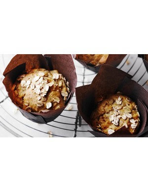 Banana muffins are another great breakfast choice for food on the go