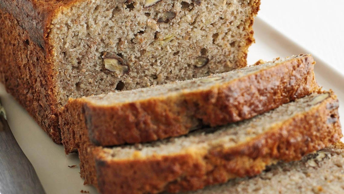 This breakfast loaf is a great way to use up those bananas that are looking past their best