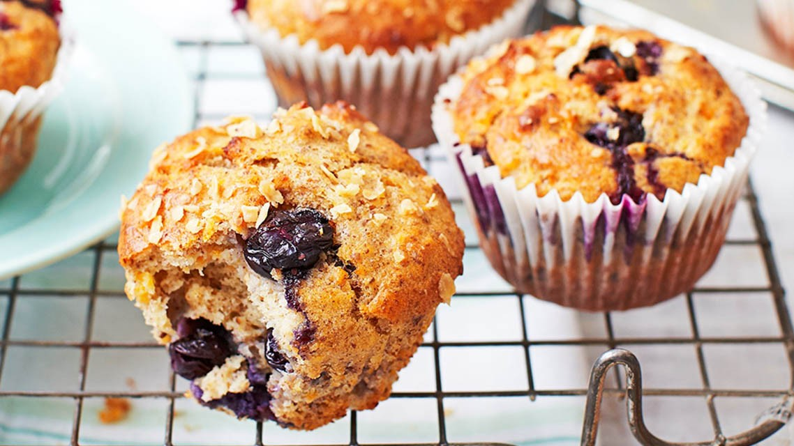 They may seem like a naughty choice, but these muffins have fewer than 200 calories each