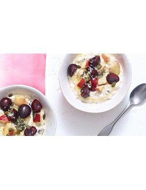 Not a morning person? This bircher muesli is the breakfast for you!
