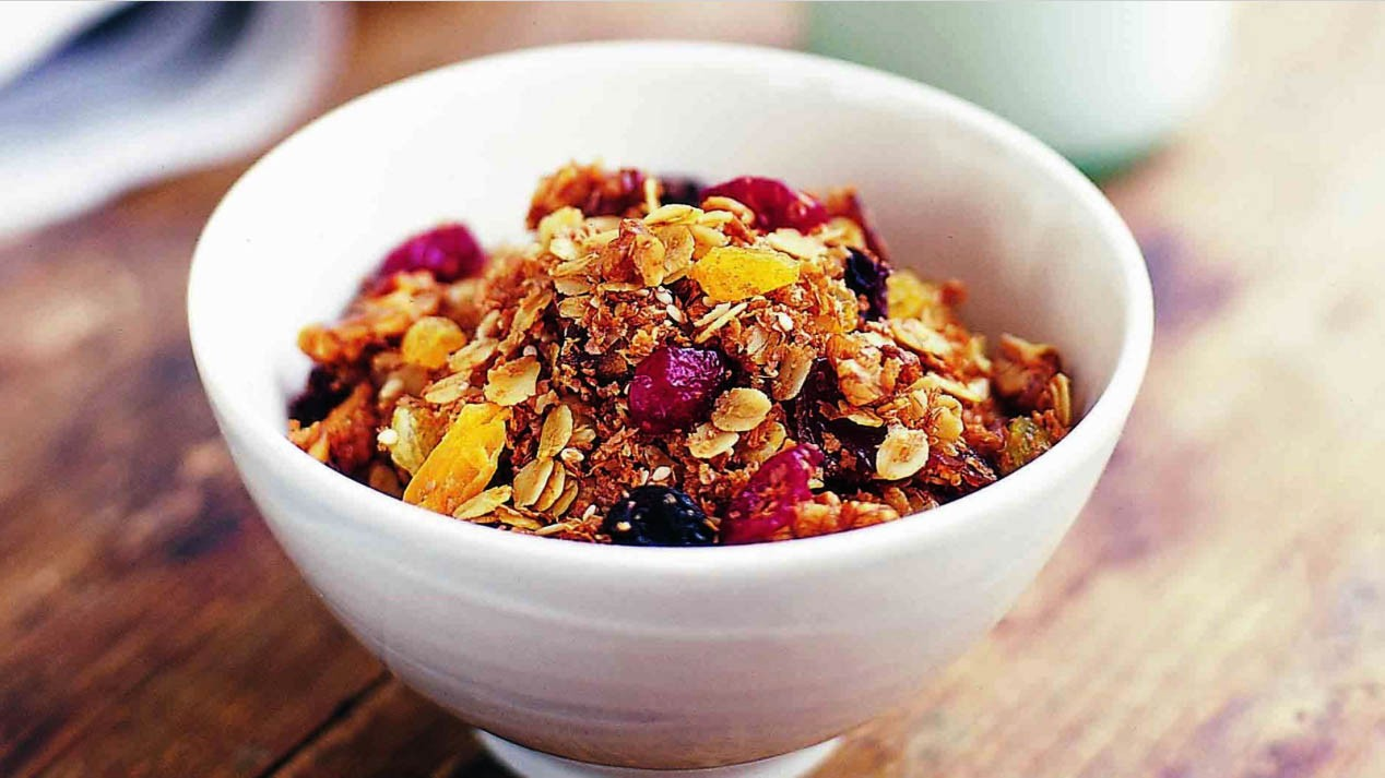 Whip up a batch of granola and if you store it correctly you'll have fresh and crunchy breakfasts for days