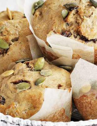 Whip up a batch of these breakfast muffins in advance of race day and you won't need to worry about not having enough time in the morning