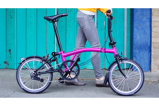 Brompton is a classic British folding bike design that's changed little in over 30 years