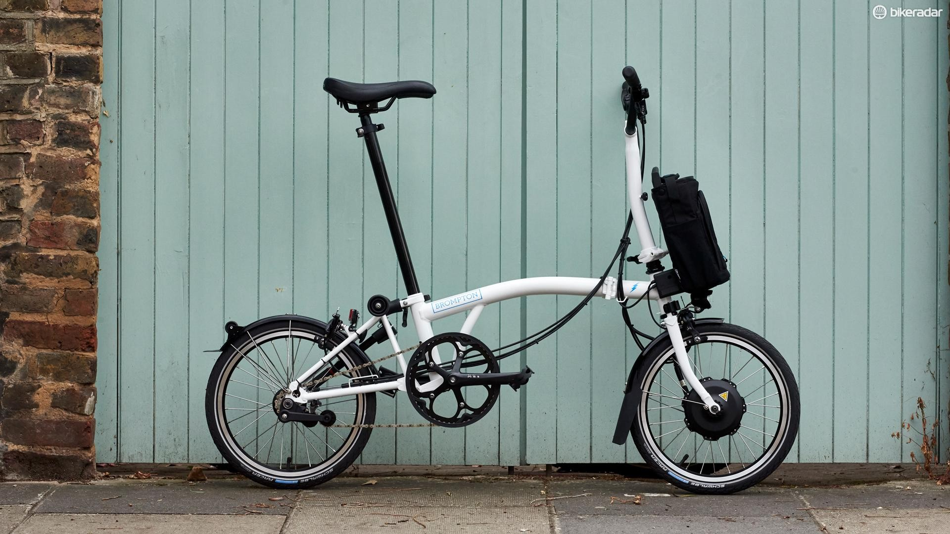 Brompton's Electric folding bike