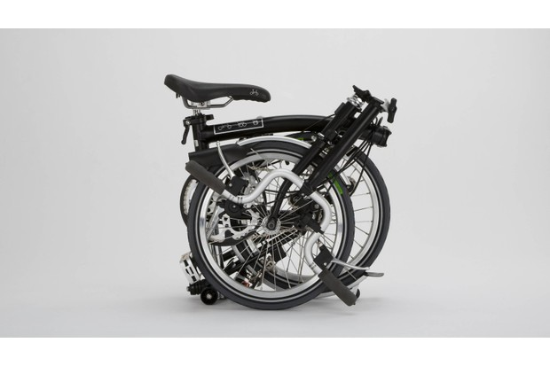 The Brompton folds down small in seconds, perfect for train-tackling commuters