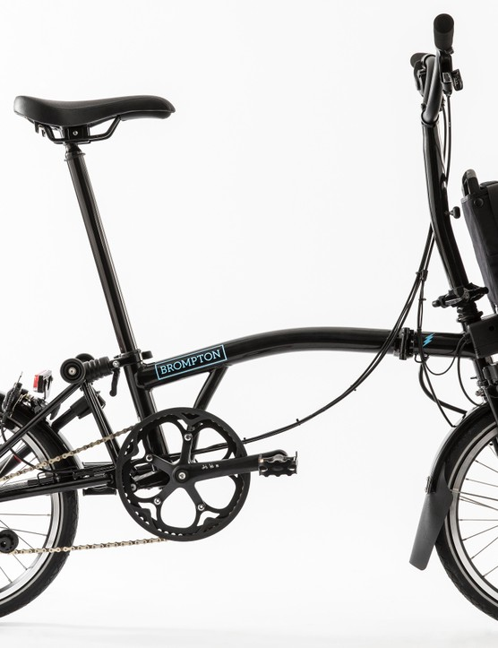 The Brompton Electric will be available in black and white