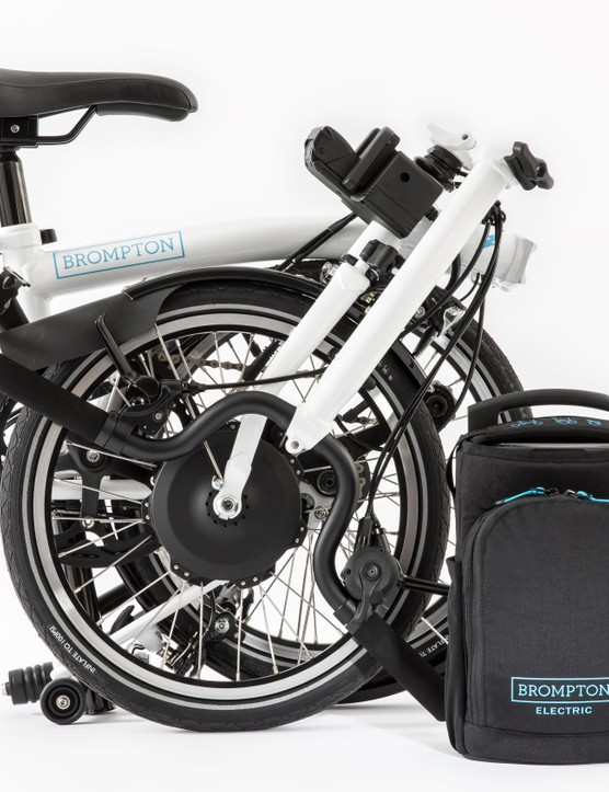 The Brompton Electric comes with a 1.5L