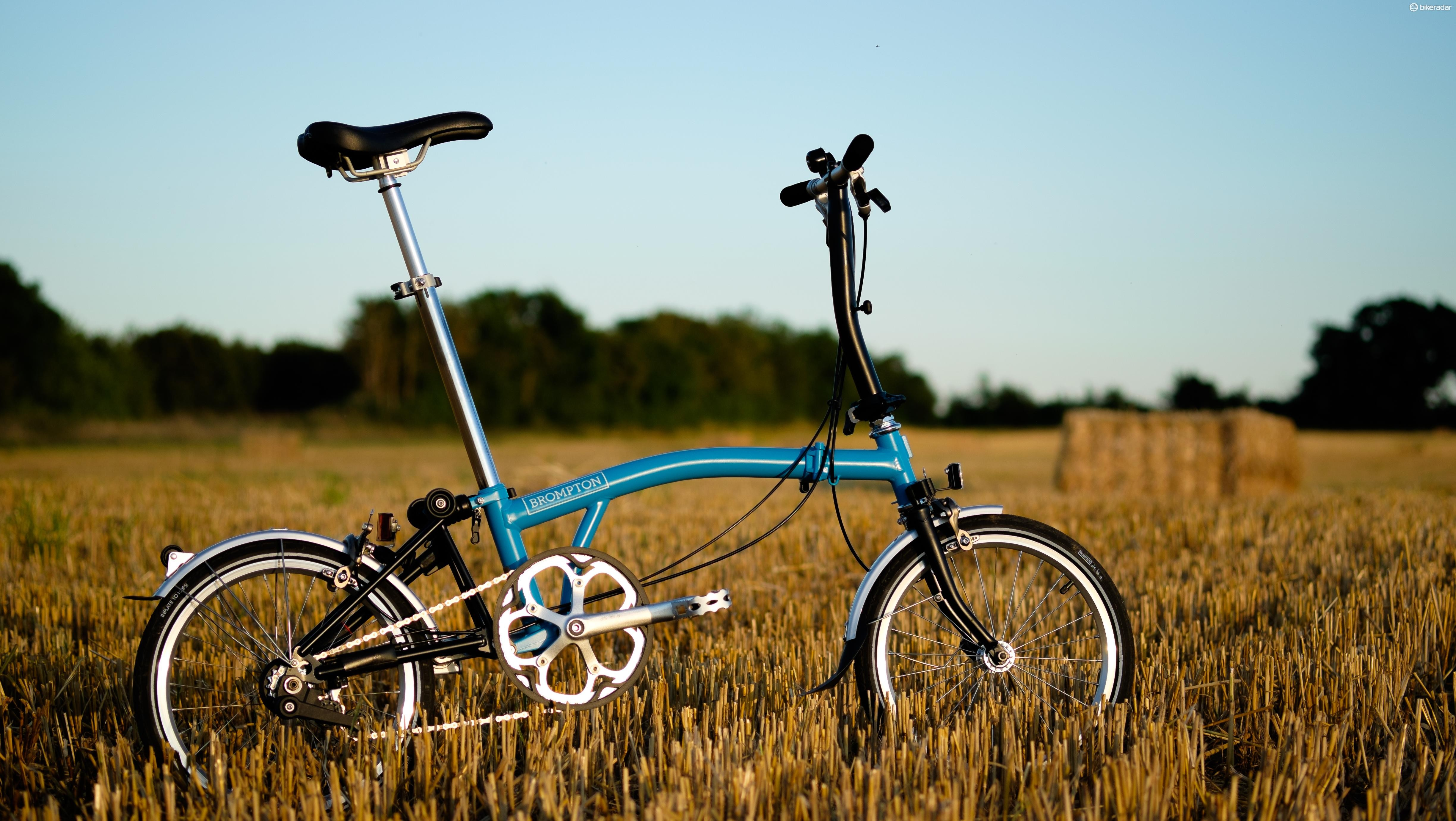 James May has been riding a Brompton since before it was trendy to do so