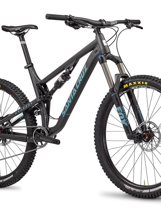 The Bronson features 150mm of rear VPP travel