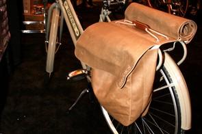 Brooks saddle bags.