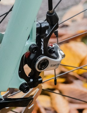 Mechanical disc brakes are an odd choice, but we understand the rationale