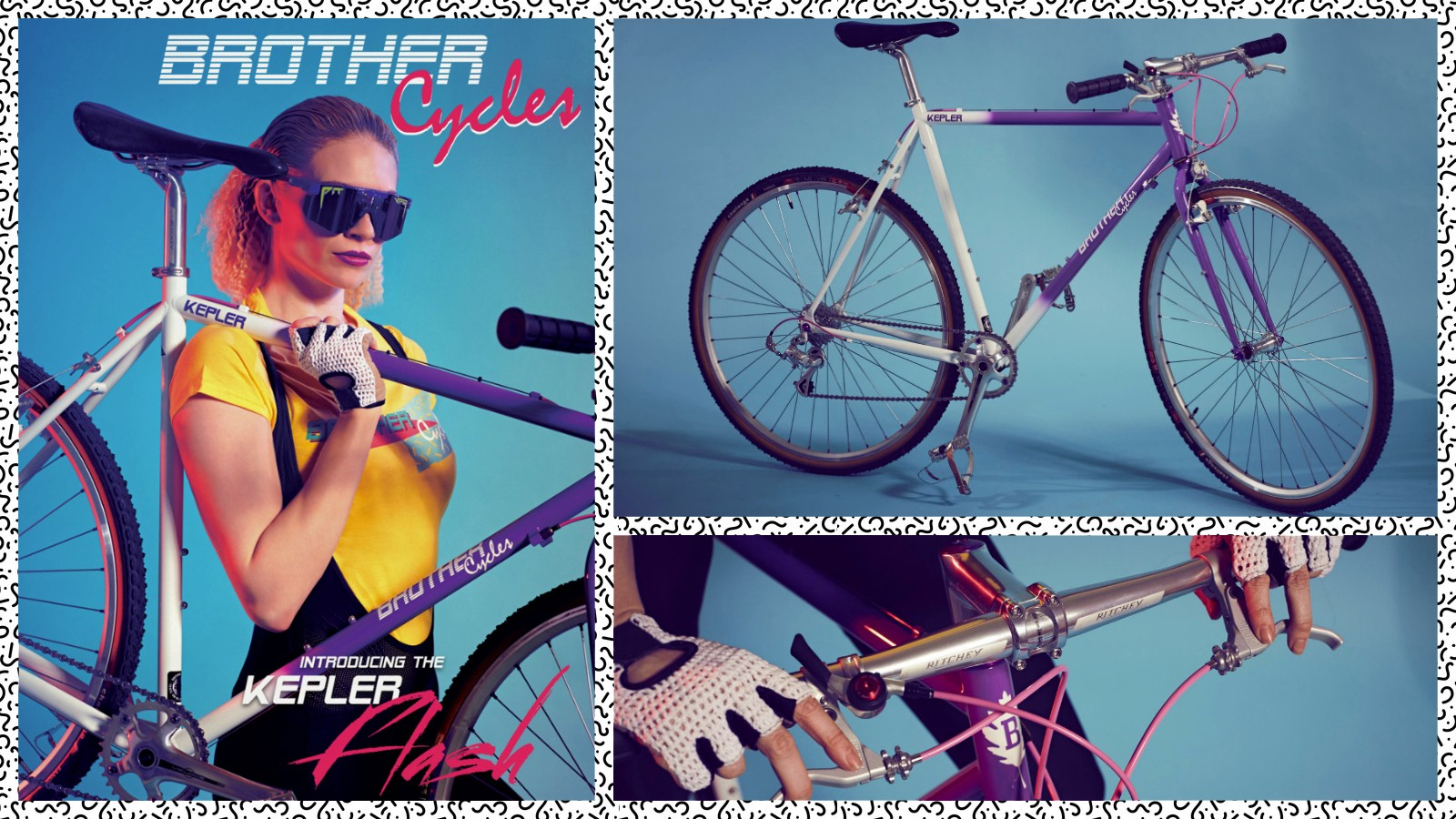 The new Kepler Flash from Brother Cycles is the most radically-retro bike we've seen in a while