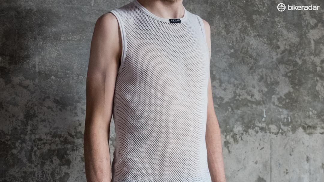 The Brynje Super Thermo mesh may not look flattering, but it works