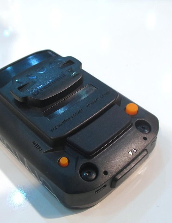 With just three buttons the Rider 10 is pretty simple to navigate