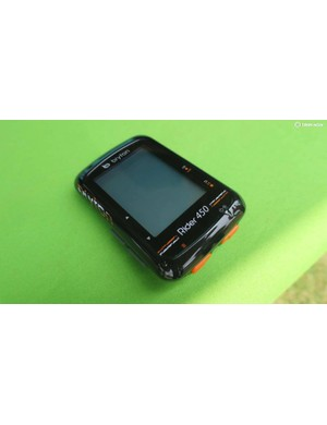 The 450 is Bryton's new flagship off road GPS computer