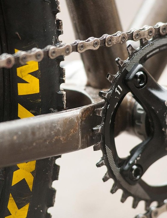Chainsuck protection and plenty of room for your chainring