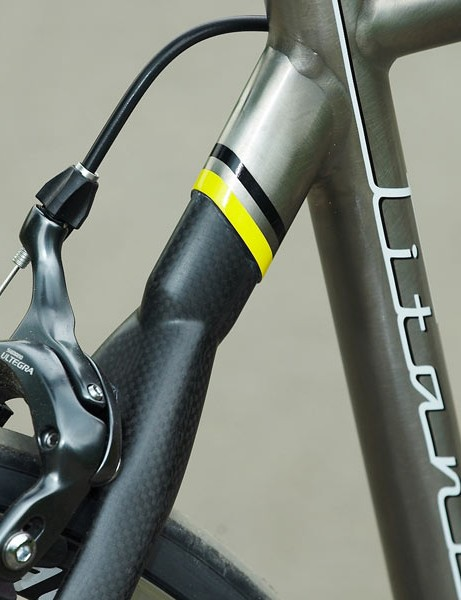 The Comp 3 cleverly marries titanium and carbon