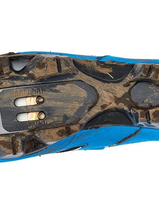The 500's sole is fairly stiff