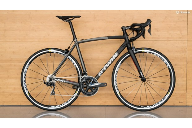 The B'Twin Ultra AF is a whole lot of bike for the money