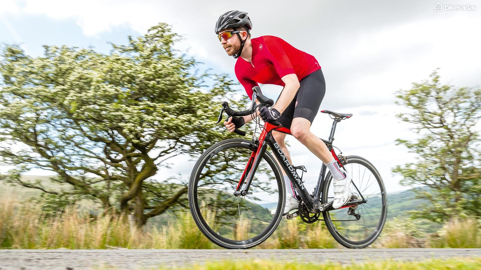 Strong hamstrings will help you keep a strong pedal stroke throughout your ride and reduce the risk of injury