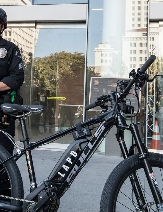 In conjunction with e-bike brand Bulls, the Los Angeles, California police department has the largest e-bike fleet in the US
