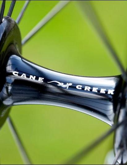 Cane Creek wheels are light and pretty stiff