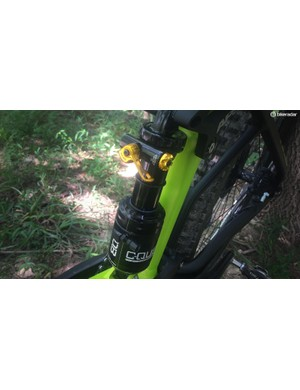 The C-Quent is a simplified shock tuned to specific bikes