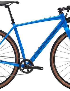 Like an increasing number of gravel bikes, the Apex 1 model comes fitted with a dropper post