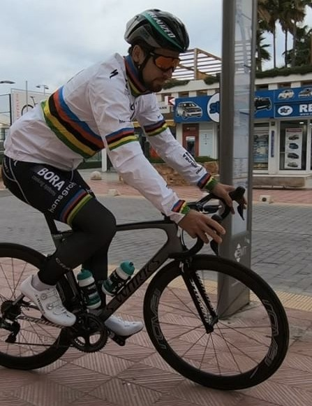 Peter Sagan is an ambassador for C40 Cities
