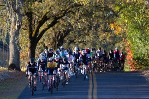 Around 800 riders particpated on the three different course lengths on the day