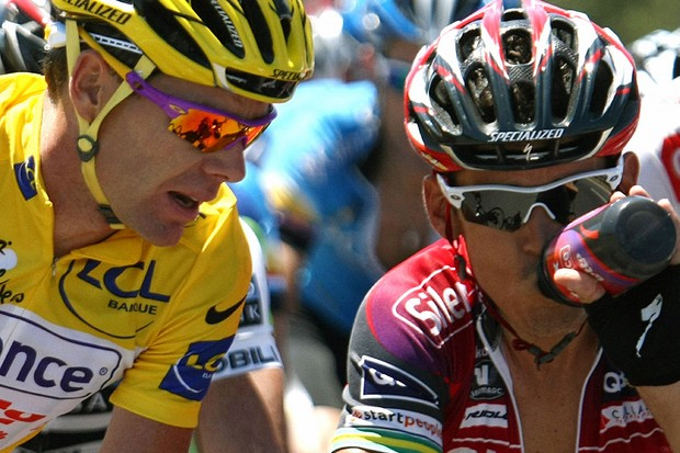 Cadel Evans will be relying on all his teammates to help him in the coming days